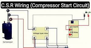 Capacitor For Compressor Wiring Diagram