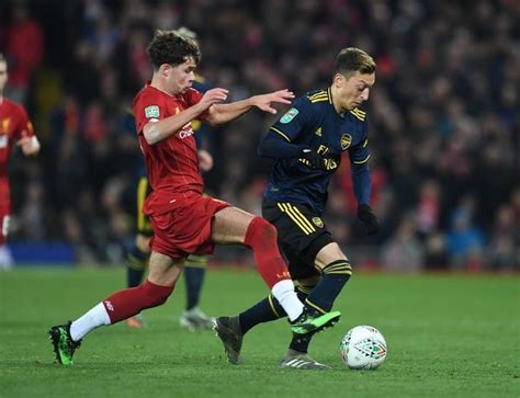 Liverpool FC v Arsenal FC Carabao Cup Round of 16 #19605462
