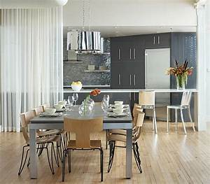 Gardinen Für Küche Esszimmer : 1001 ideen zum thema offene k che trennen ~ Markanthonyermac.com Haus und Dekorationen