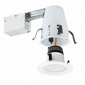 Quot led recessed lighting remodel non ic air tight k
