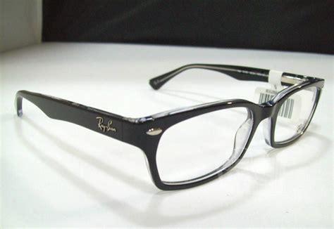 s designer eyeglasses ban rx 5150 s black designer eyeglass frames ebay