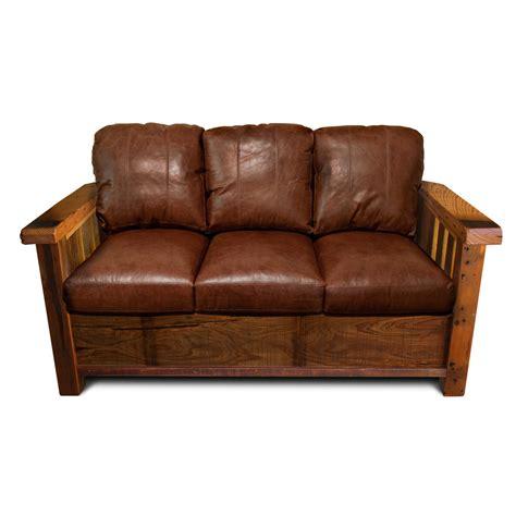 Rustic Sectional Sofa by Rustic Barnwood Sofa