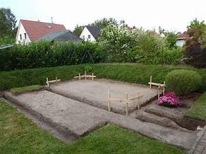 Fundament Für Gartenhaus : aufbau eines gartenhauses mit podest fundament ~ Whattoseeinmadrid.com Haus und Dekorationen