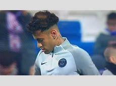 Neymar estrenó nuevo look en el Real Madrid vs PSG por