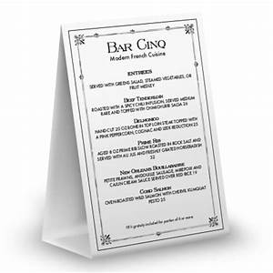 vintage table tent menu table tent 4x6 table tent With 4x6 table tent template