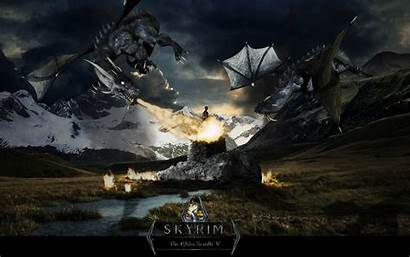 Skyrim Wallpapers Poster Backgrounds Pc Cool Awesome