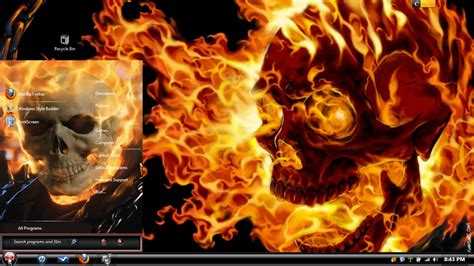 Ghost Themes Ghost Rider Theme Windows Xp Amadco