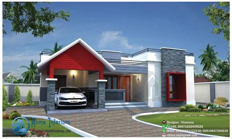 sq ft single floor home design  floor plan