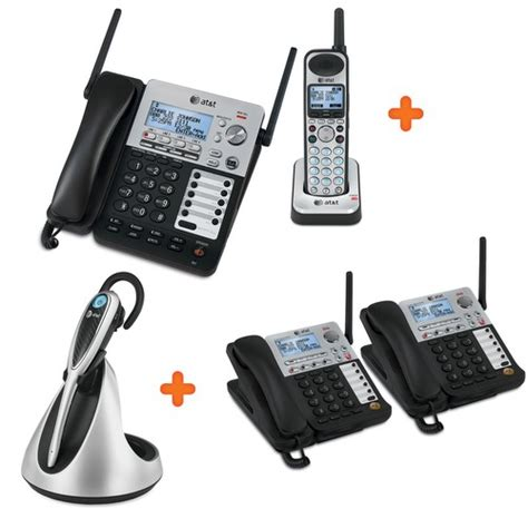 business phone systems official synj 174 cordless business phone system at t