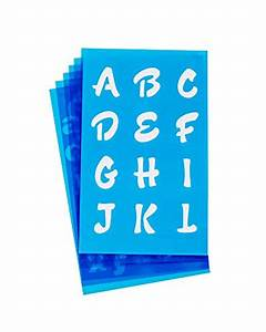 westcott lettercraft stencil 3 4 inch and 1 inch With westcott letter craft stencils