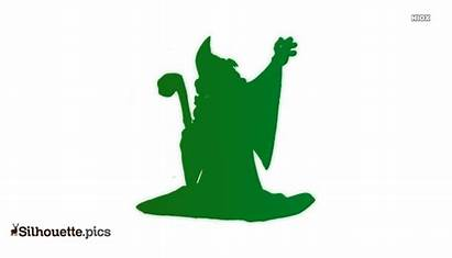 Gandalf Silhouette Lord Clipart Rings Character