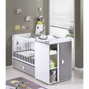 Lit bebe avec table a langer integre pas cher table de lit for Robe de chambre enfant avec matelas cher