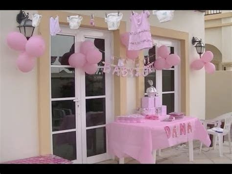 Decoracion De Baby Shower En Casa - ideas de decoraci 243 n para un baby shower de ni 241 a