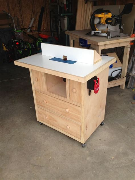 router table    home projects  ana white router table router table plans