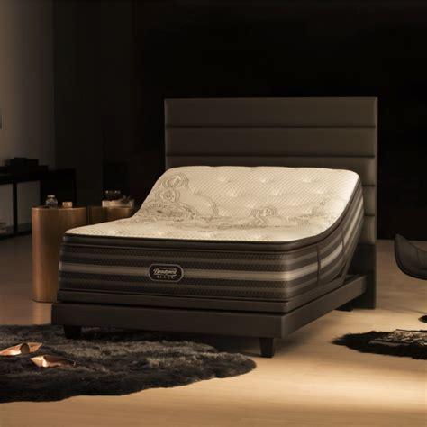 beautyrest adjustable bed beautyrest black katarina plush pillowtop mattress