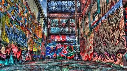 Hop Hip Graffiti Street Wallpapers Wall Alley