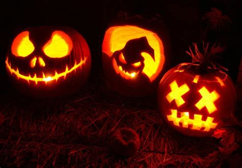 halloween kuerbis gesichter coole vorschlaege archzinenet