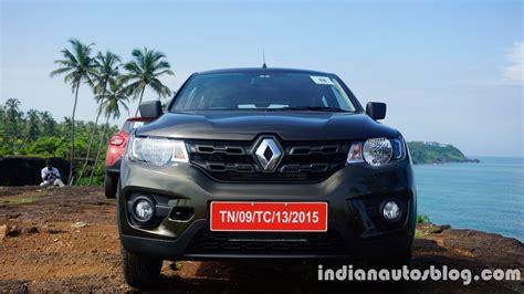 renault kwid on road price diesel renault kwid diesel ruled out by renault india s md