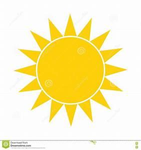 Simple Sun Icon Cartoon Vector | CartoonDealer.com #82403505