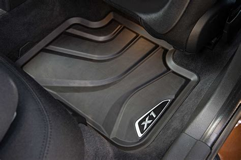 bmw x1 floor mats the new bmw x1 on location pictures all weather floor