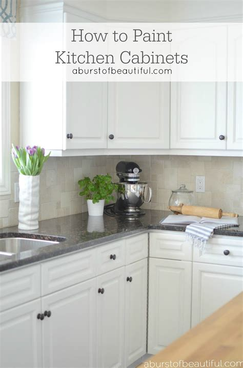 how to glaze painted cabinets how to paint kitchen cabinets a burst of beautiful