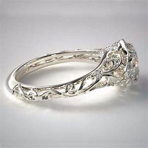 Vintage Filigree Diamond Engagement Rings By James Allen