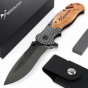 Outdoor Messer Shop : bergkvist 3 in 1 klappmesser k19 messer extra scharf i taschenmesser mit holzgriff i outdoor ~ Eleganceandgraceweddings.com Haus und Dekorationen