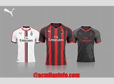 Revealed AC Milan Puma Jersey 2018 AC Milan News