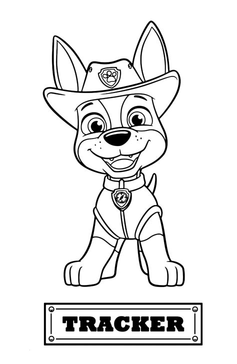 Paw Patrol Coloring Pages Free Printable Coloring Page