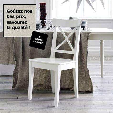 chaise blanche ikea chaises ikea