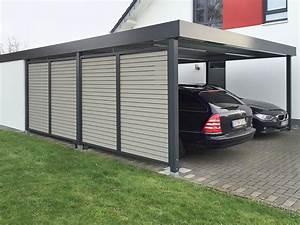 Carport Verkleidung Kunststoff : carport wandelemente carceffo moderne carports garagen ~ Frokenaadalensverden.com Haus und Dekorationen