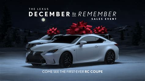 Lexus Celebrates Holiday Magic With December Sales Event