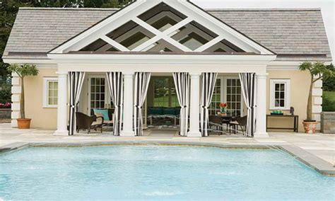 Pool House Guest House Designs — Modern House Plan