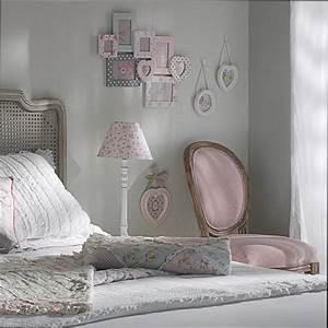 deco chambre adulte gris et rose With chambre grise et rose