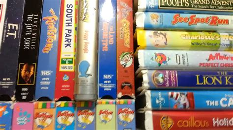 vhs collection youtube