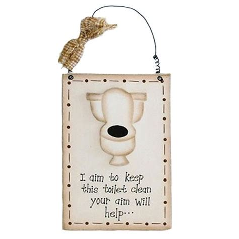 shabby chic toilet sign shabby chic wooden toilet sign