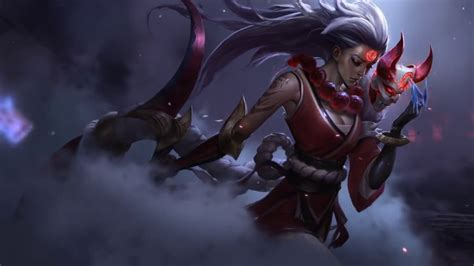 Blood Moon Diana Animated Wallpaper - blood moon diana login screen animation theme intro