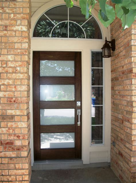 modern wood door gallery  front door company