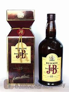 Buy J U0026b Reserve 15 Year Blended Whisky