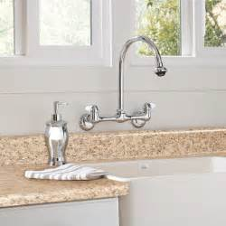kitchen faucet buying guide - Wall Mount Kitchen Faucets With Sprayer
