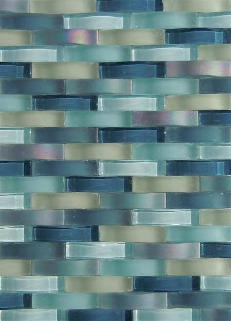 classic tile staten island glass tile backsplash ripple waterfall provided by