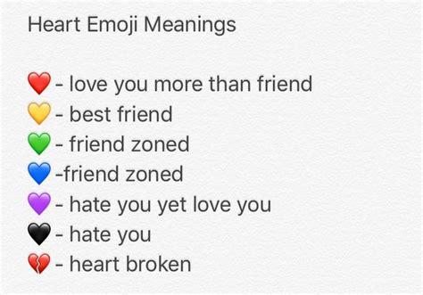 Best 25+ Heart Emoji Ideas On Pinterest
