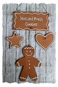 Bastelideen Holz Weihnachten : basteln mit holz weihnachten laubsaegearbeit gingerbread cookies ~ Orissabook.com Haus und Dekorationen