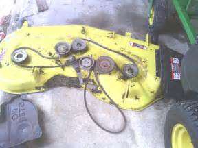 how to john deere z425 54in belt replacement kjbss