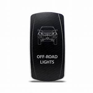 Ch rocker switch toyota tacoma off road lights symbol