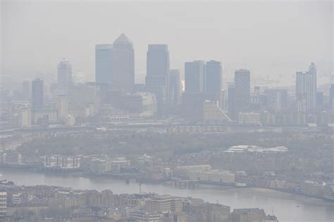 london pollution capital hits toxic air limit