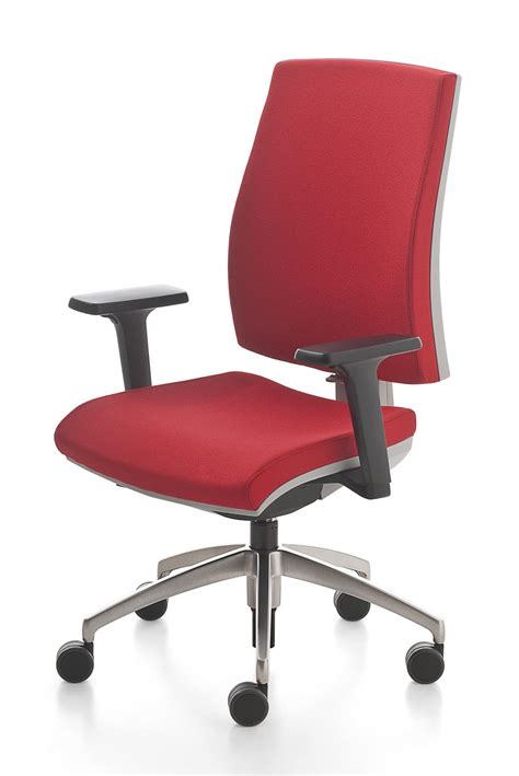 swivel office chair with adjustable lumbar support