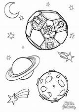 Space Colouring Galaxy Pages Little Themed Coloring Printable Outer Print Printables Intheplayroom Worksheets Adult Planet Playroom Characters Colors sketch template