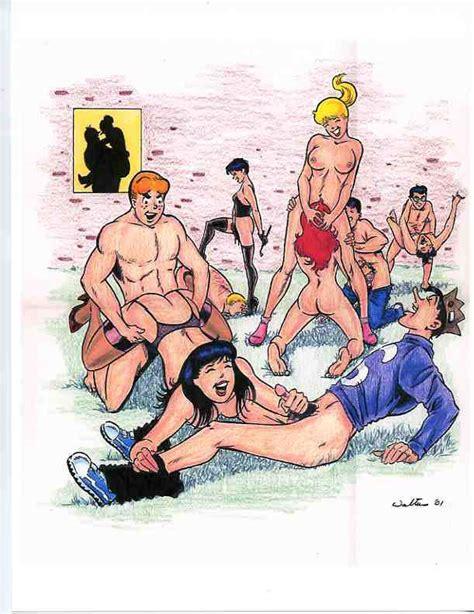 Rule Girls Adam Walters Archie Andrews Archie Comics
