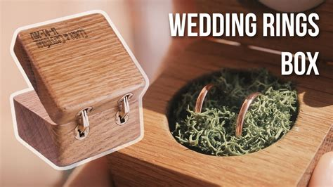 a wedding rings box youtube